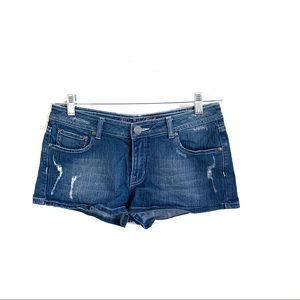 Blac Label Pink Denim Shorts